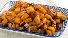 Bacon Roasted Sweet Potatoes Recipe