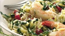Shrimp Pilaf Florentine Recipe