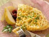 Cheesy Pasta Frittata