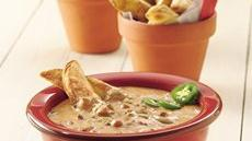Chili Cheese Dip and Potato Wedges Recipe