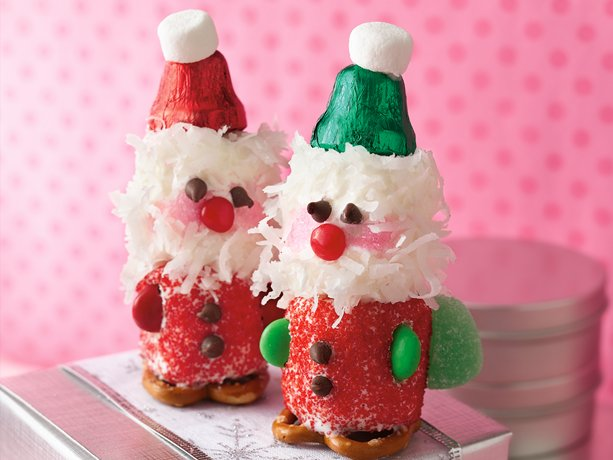 Marshmallow Santas