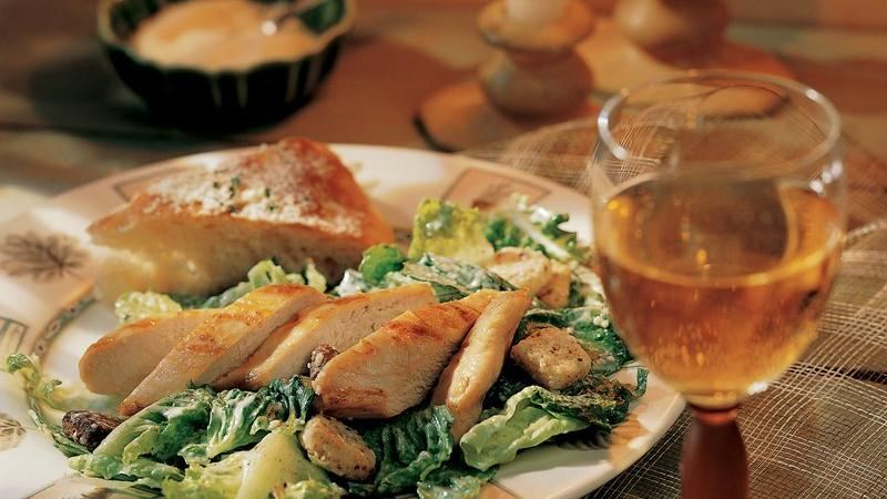 Grilled Chicken Caesar Salad