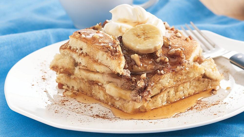 Banana Pecan Pancake Bake recipe from Pillsbury.com