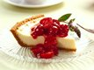 Vanilla Cheesecake with Cherry-Berry Topping
