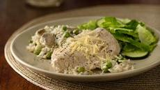 Chicken with Rice and Mushrooms Recipe