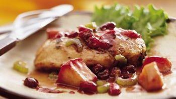 Apple-Cranberry-Sage Chicken