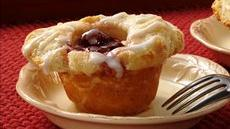 Cherry Danish Biscuit Cups Recipe