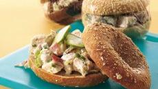 Bagel Shop Chicken Salad Sandwiches Recipe