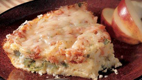 Lemon- and Parmesan-Crusted Salmon recipe from Betty Crocker
