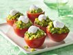 Mexican Plum-Tomato Cups