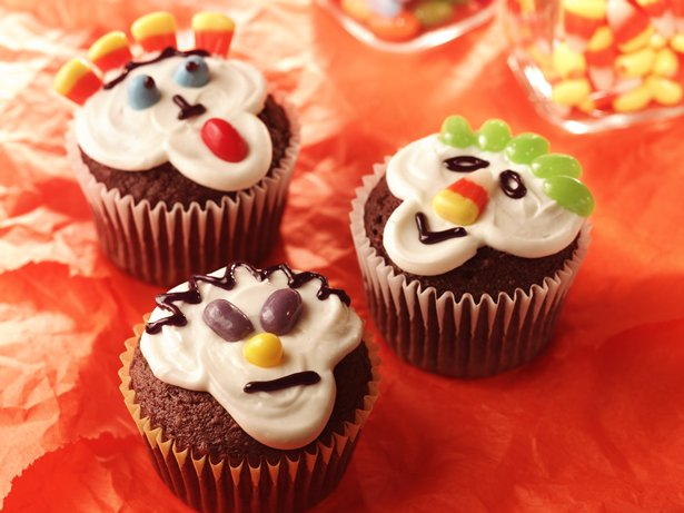 Spooky Kooky Cupcakes