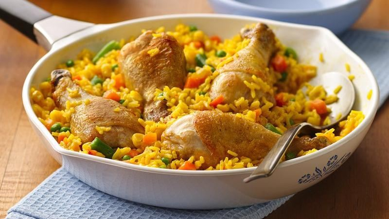 Arroz con Pollo (Rice with Chicken)