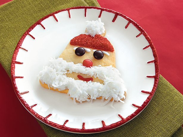 Santa Bell Cookies
