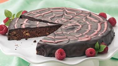 Heavenly Chocolate-Raspberry Torte