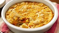 Cheesy Chicken Pot Pie Recipe