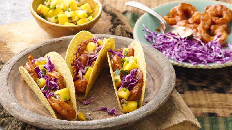 Chipotle Shrimp Ten Minute Tacos