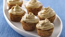 Mini Carrot-Spiced Cupcakes with Molasses Buttercream Recipe