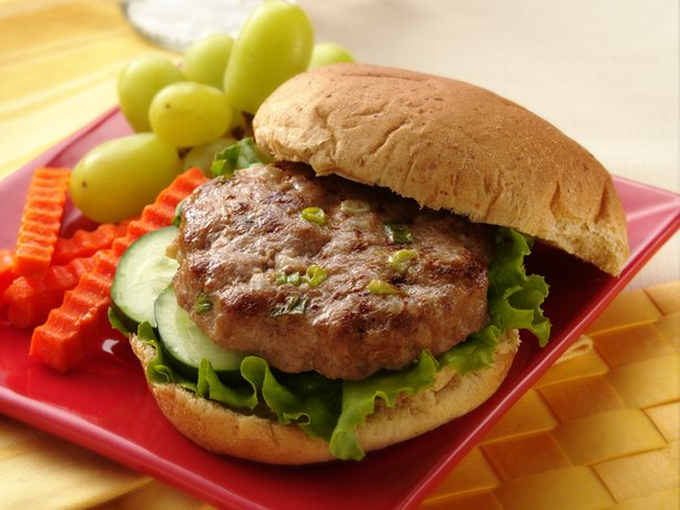 Image of Asian Turkey Burgers, Betty Crocker