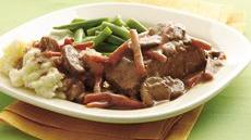 Easy Slow Cooker Steak Pot Roast Recipe