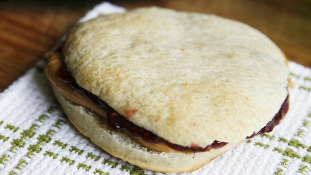 Pizza Bread PB&J Sandwiches