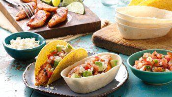 Grilled Chicken Ten Minute Tacos