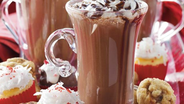 Deluxe Hot Chocolate Buffet