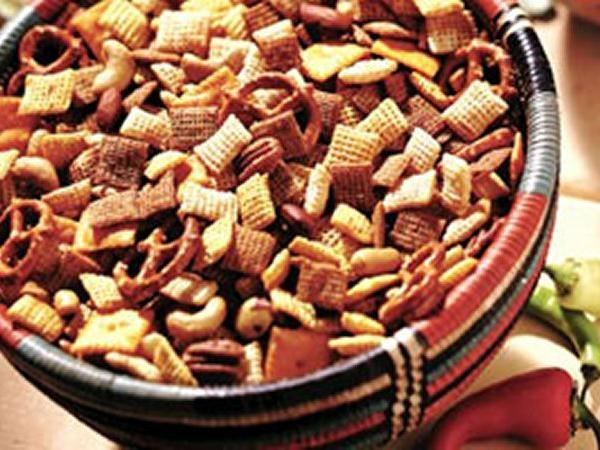 Hot and Spicy Chex* Party Mix - Life Made Delicious