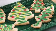 Trimmed Tree Cookies Recipe