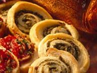 Pesto Pinwheels