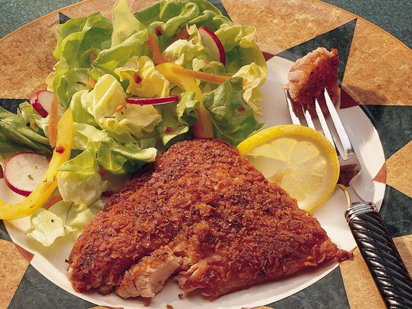 Potato crusted salmon life made delicious for Potato crusted fish