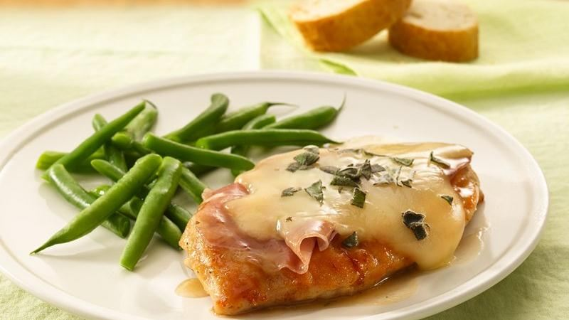 Chicken Saltimbocca recipe from Betty Crocker