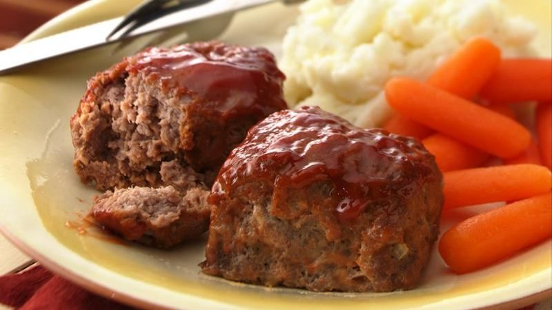 30-Minute Mini Meat Loaves recipe from Betty Crocker