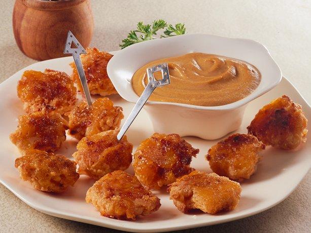 Image of Apricot-glazed Coconut-chicken Bites, Betty Crocker
