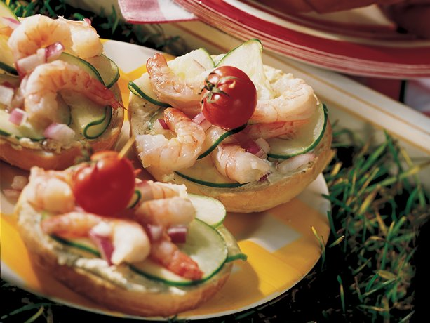 Summertime Shrimp Rounds