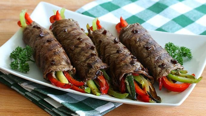 Balsamic Glazed Steak Rolls recipe - from Tablespoon!