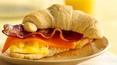 Egg and Bacon Crescents Recipe