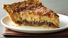 Chocolate and Coconut Pecan Custard Pie Recipe