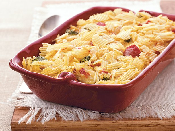 Turkey and Rice Casserole