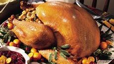 Roast Turkey with Sausage-Apple Stuffing Recipe