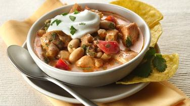 Savory White Chicken Chili