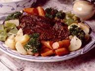 Herbed Pot Roast with Vegetables