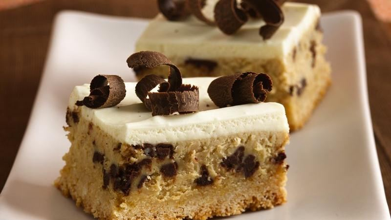 Tiramisu Cheesecake Bars