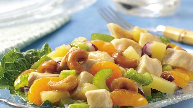 Fruit 'n Cashew Chicken Salad