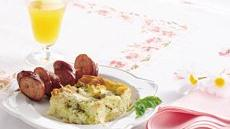Basil Breakfast Strata Recipe