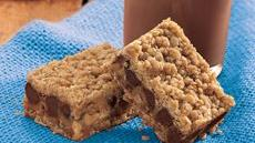 Chocolate Chip-Peanut Butter Bars Recipe