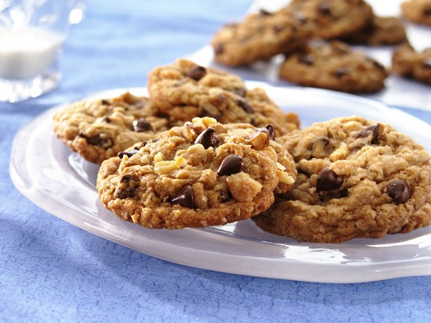 yummy double chocolate chip cookies