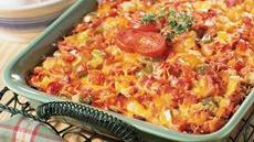 Ham and Veggie Strata Recipe