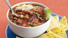 Smoky Pork and Pinto Bean Chili Recipe