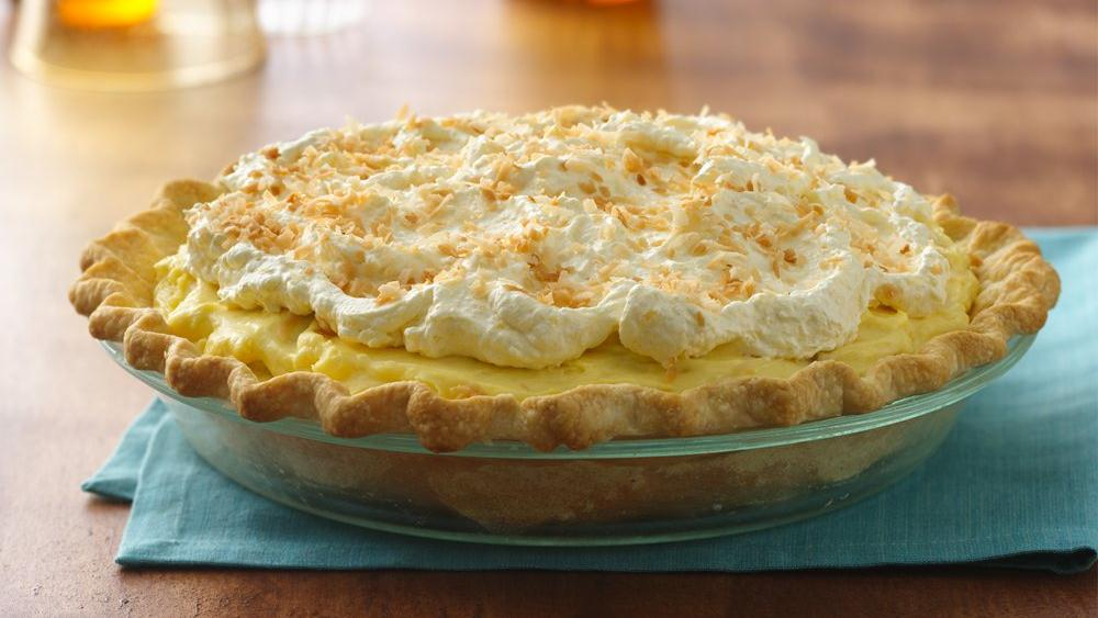 Island-Style Banana Cream Pie