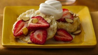 Strawberry-Almond Tres Leche
